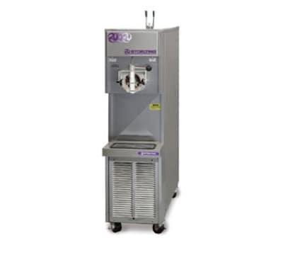 Stoelting 217R-409 1-Flavor Soft Serve Freezer w/ 6.5-Gal Hopper, Air Cooled Remote, 208-230/1 V