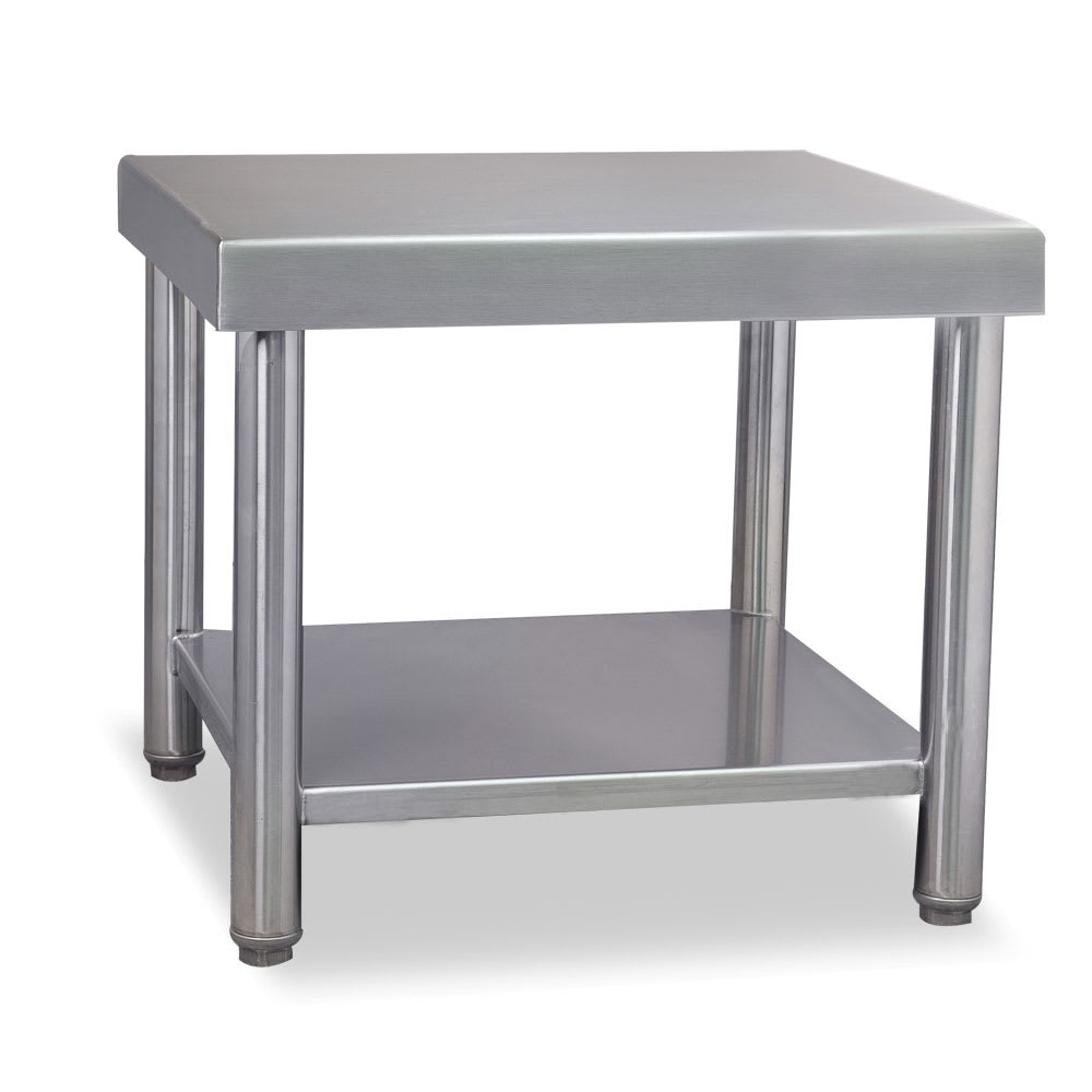 "Stoelting 2202408 Floor Stand for Twin E & F Units - 22""W x 24""D x 19""H, Stainless"