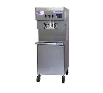 Stoelting U431-I2-48 Soft Serve Freezer w/ (2) 32-qt Hoppers, Remote Air Cool, 208-230/1 V