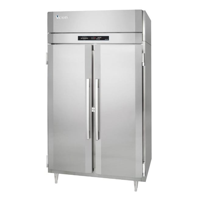 """Victory Refrigeration FS-2D-S1 52"""" Two Section Reach-In Freezer, (2) Solid Doors, 115v"""