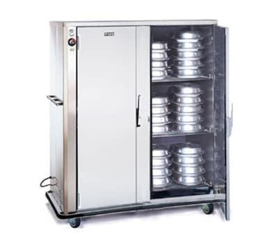 FWE A-180-2-XL220 A-Series Banquet Cart, 2-Door, 150-180-Plate Capacity, 12.375-in Max, 220/1V