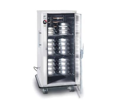 FWE A-60220 A-Series Banquet Cart, 1-Door, 48-60-Plate Capacity, 11-in Max, 220/1V