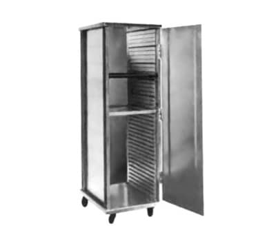 FWE ETC-1826-15-40 Full Height Non-Insulated Mobile Heated Cabinet w/ (40) Pan Capacity