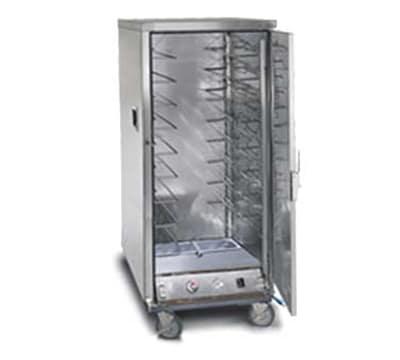 FWE ETC-UA-10PH Proofer-Heater Transport Cabinet, Full Height, 10-Tray Cap., Stainless, 220v/1ph