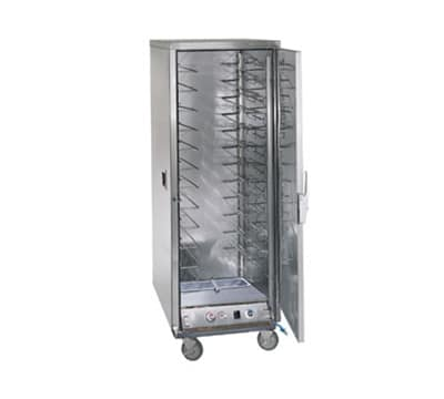 FWE ETC-UA-12PH Proofer-Heater Transport Cabinet, Full Height, 12-Tray Slides, Stainless, 220v/1ph