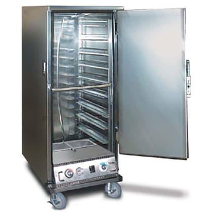 FWE ETC-UA-6PH Proofer-Heater Transport Cabinet, Half Height, 6-Tray Slides, Stainless, 220v/1ph
