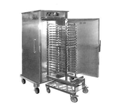 FWE HHC-CC-201SCCMW 220 Mobile Combi Companion Heated Holding Cabinet, 201-Rack Accommodation,220/1V
