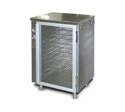 FWE HLC-1717-13220 Handy Line Heated Cabinet, Single Compartment, Half-Height, Insulated, 220/1V