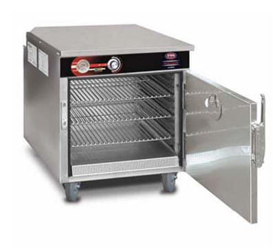 FWE HLC-2125-5220 Mobile Heated Holding Cabinet w/ 1-Compartment, Under Counter, 3-Shelves, 220/1V