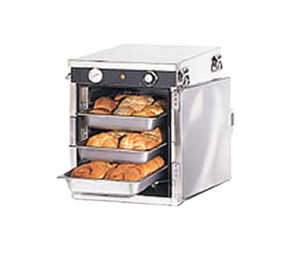 FWE HLC-5S 120 Handy Line Heated Cabinet w/ 1-Comp., Stacking, Half Height, 5-Pan Racks, 120V