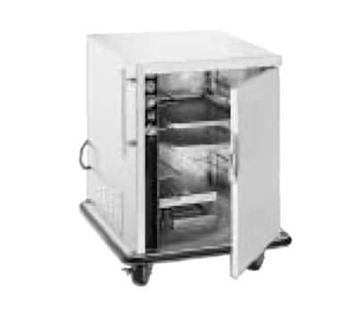 FWE PH-1826-14220 Mobile Heater-Proofer Cabinet, 2-Sections, Half-Ht, 10-Pair Slide Cap., 220/1V