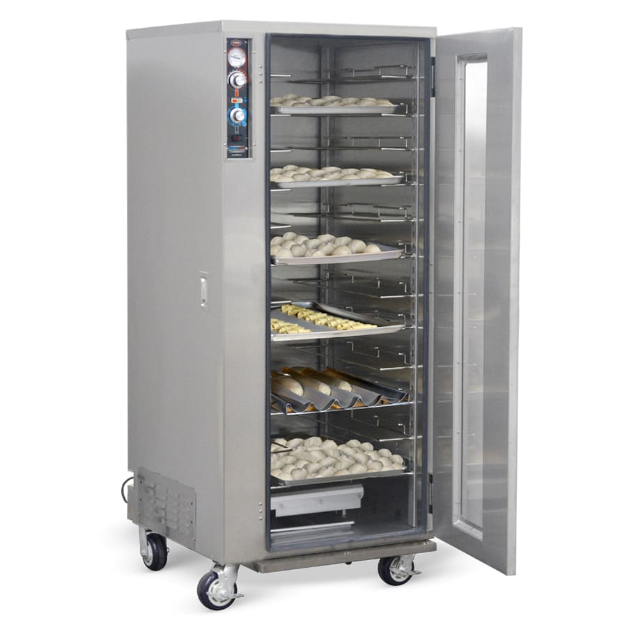 FWE PH-1826-18 Full Height Mobile Heated Cabinet w/ (12) Pan Capacity, 120v
