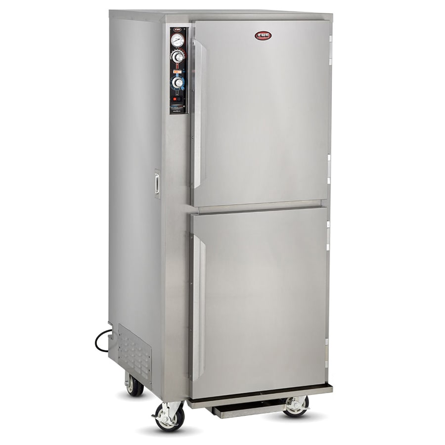 FWE PHU-12 Full Height Insulated Mobile Heated Cabinet w/ (12) Pan Capacity, 120v