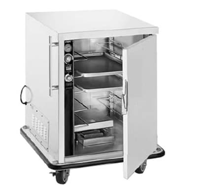 FWE PHU-4220 Mobile Heater-Proofer Cabinet, Insulated, 4-Pair Slide Cap., Stainless, 220/1V