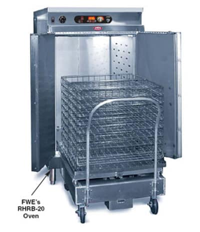 FWE RHRB-20 2203 Retherm Oven for Basket Docking System, 2-Doors, Stationary, Stainless, 220/3V
