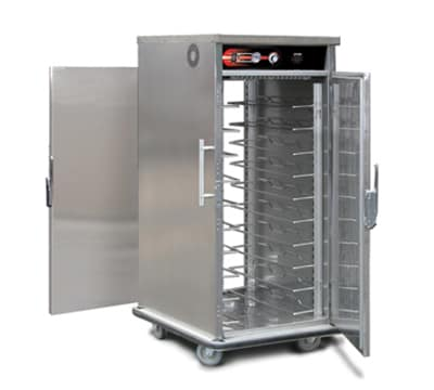 FWE UHST-10P 120 Mobile International Heated Server, Pass-Thru, 10-Pair Univer. Tray Slides, 120V