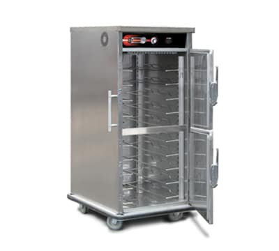 FWE UHST-5 HO220 5-Tray Heated Meal Delivery Cart, 120v