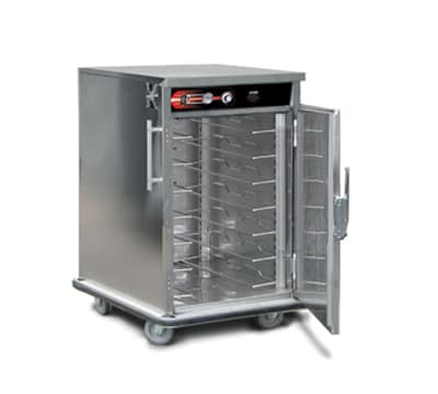 FWE UHST-7220 Mobile International Heated Server w/ 1-Door, 7-Pair Univer. Tray Slides, 220/1V