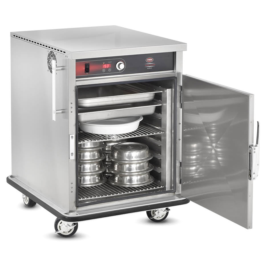 FWE UHST-GN-2432-BQ 120 Universal Banquet Cabinet, 1 Door, 32 Plate Capacity, Wrap Around-Bumper, 120V