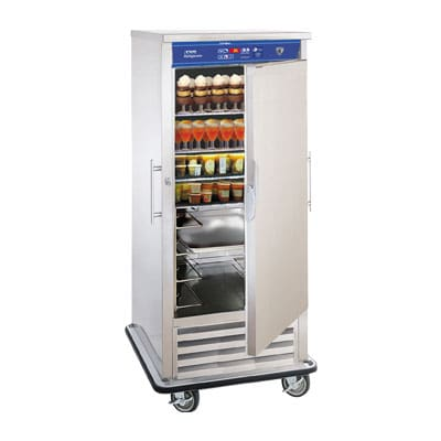 "FWE URS-10 34.5"" Single Section Mobile Refrigerator, (1) Solid Door, 120v"