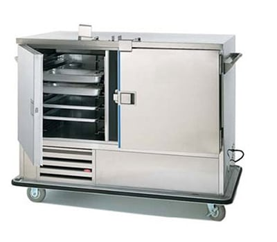 """FWE URS-14-GN 64"""" Two Section Roll-in Refrigerator, (2) Solid Door, 120v"""