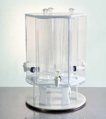 Jule-art 880-1843 Rotating Base w/ (1) 1-Gallon Drink Dispenser & 4-Cereal Dispenser