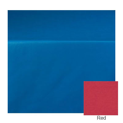 "Marko 5152-R 001 15-yd Roll Vinyl Pearlized Linen Tablecloth, 54"" Wide, Red"