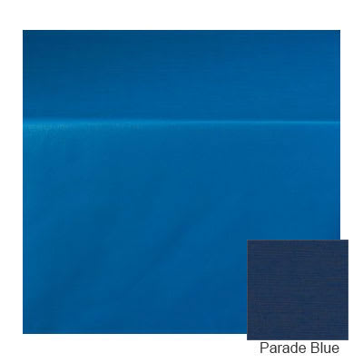 """Marko 5152-R 564 15 yd Roll Vinyl Pearlized Linen Tablecloth, 54"""" Wide, Parade Blue"""