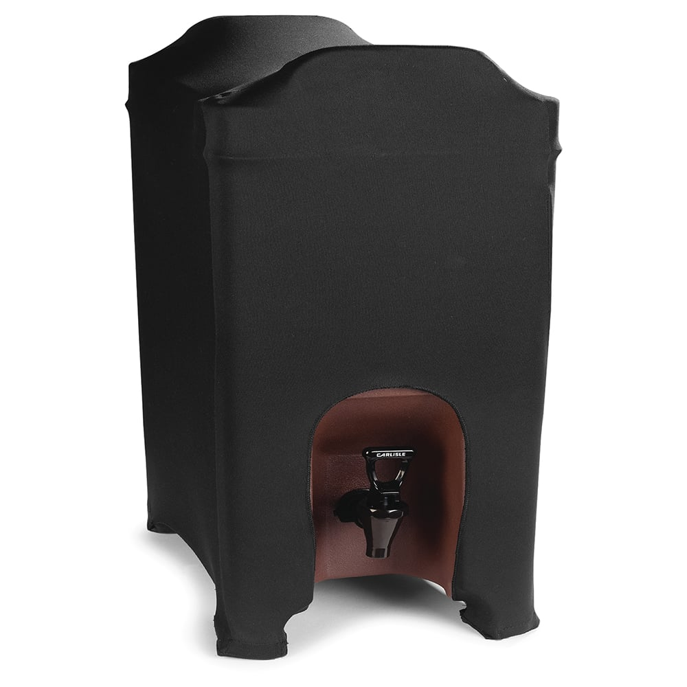 Marko EMB5026BS10014 Embrace™ Beverage Server Cover for 10 gal Containers, Polyester, Black