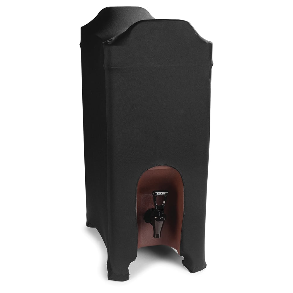 Marko EMB5026BS5014 Embrace™ Beverage Server Cover for 5 gal Containers, Polyester, Black