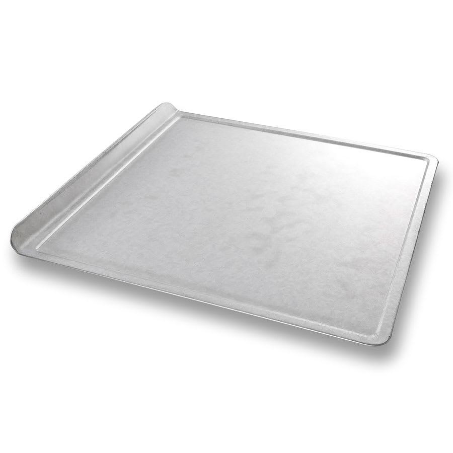 "Chicago Metallic 20300 1/2 Size Bun / Sheet Pan - 14"" x 14"" x 1"", 22 gauge Aluminum, AMERICOAT®"