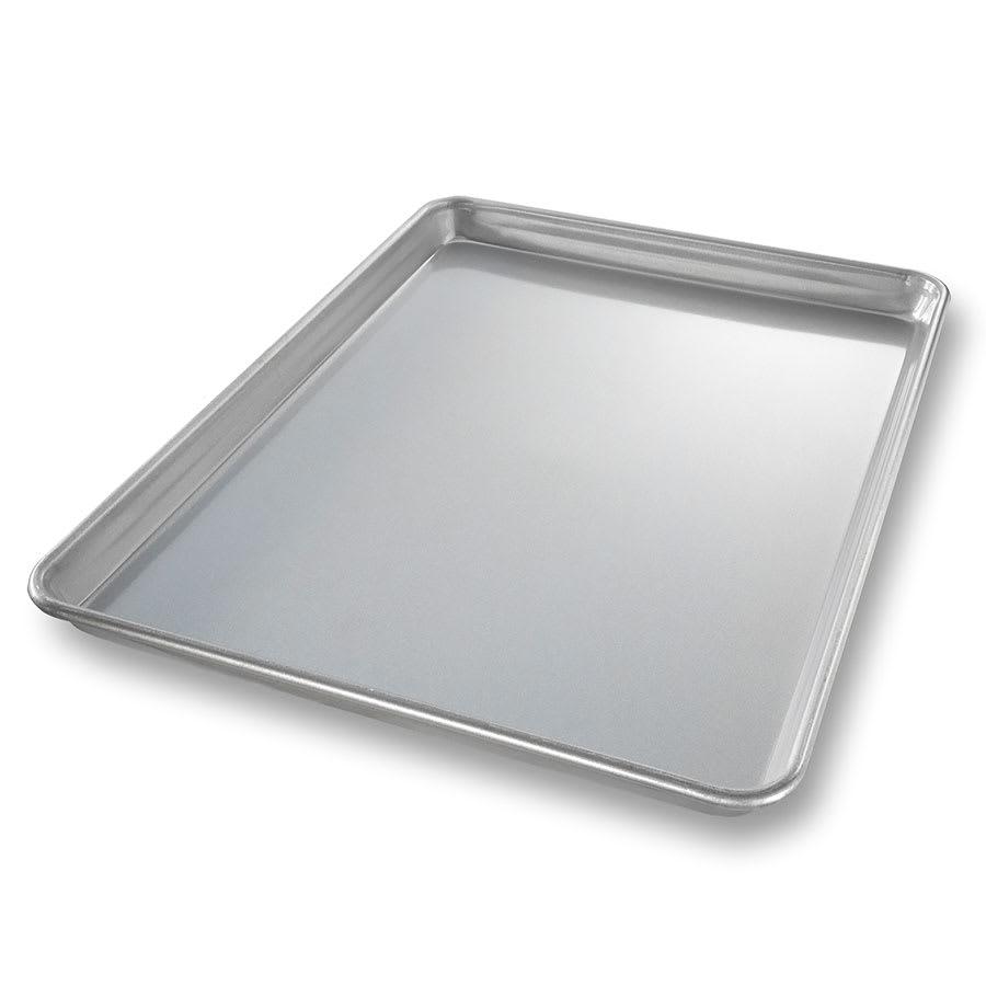"Chicago Metallic 20800 Jelly Roll Pan, 12.8"" x 17.75"" x 1"", AMERICOAT Glazed 22 ga. Aluminized Steel"