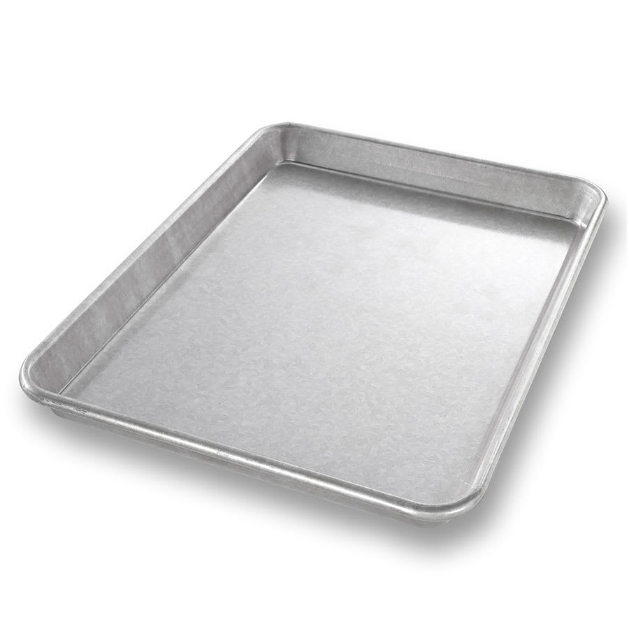 "Chicago Metallic 20900 Jelly Roll Pan, 9.5"" x 13"" x 1"", AMERICOAT Glazed 22-ga. Aluminized Steel"