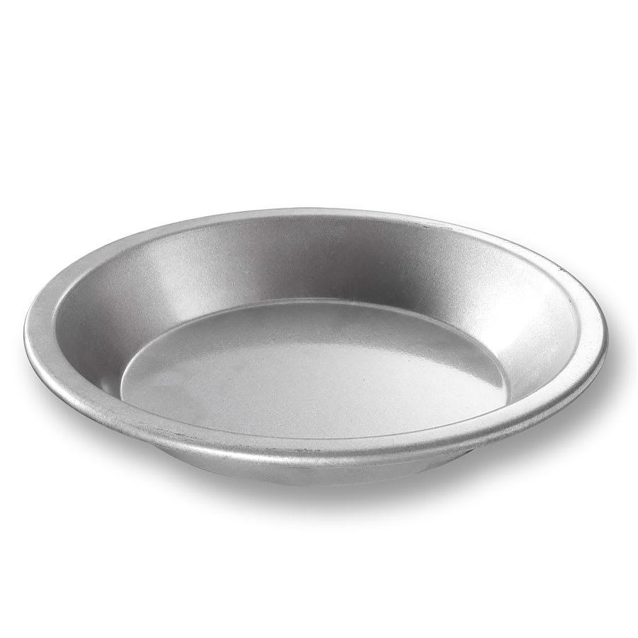 "Chicago Metallic 23100 Pie Pan, 9"" Dia., 1.5"" Deep, AMERICOAT Glazed 22-ga. Aluminized Steel"