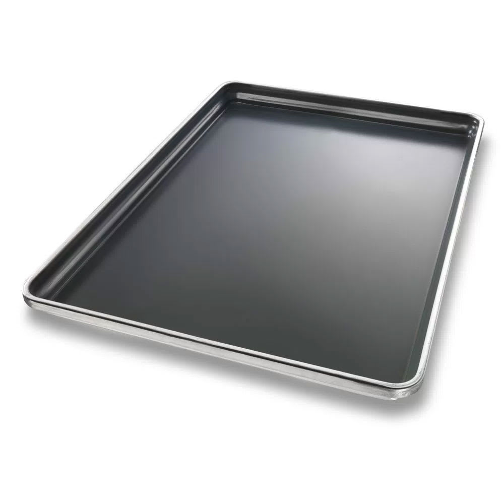 Chicago Metallic 30698 Full-size Sheet Pan, StayFlat, Glazed 16 ga. Aluminum