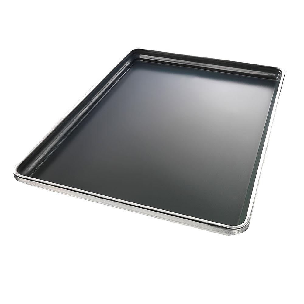 "Chicago Metallic 30858 Half-size Sheet Pan, 1"" Deep, StayFlat, Glazed 18 ga. Aluminum"