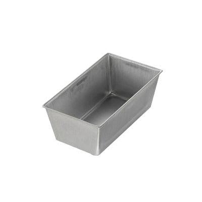 "Chicago Metallic 40415 Bread Pan, 5.6"" x 3.1"" x 2.19"", AMERICOAT Glazed 26 ga. Aluminized Steel"