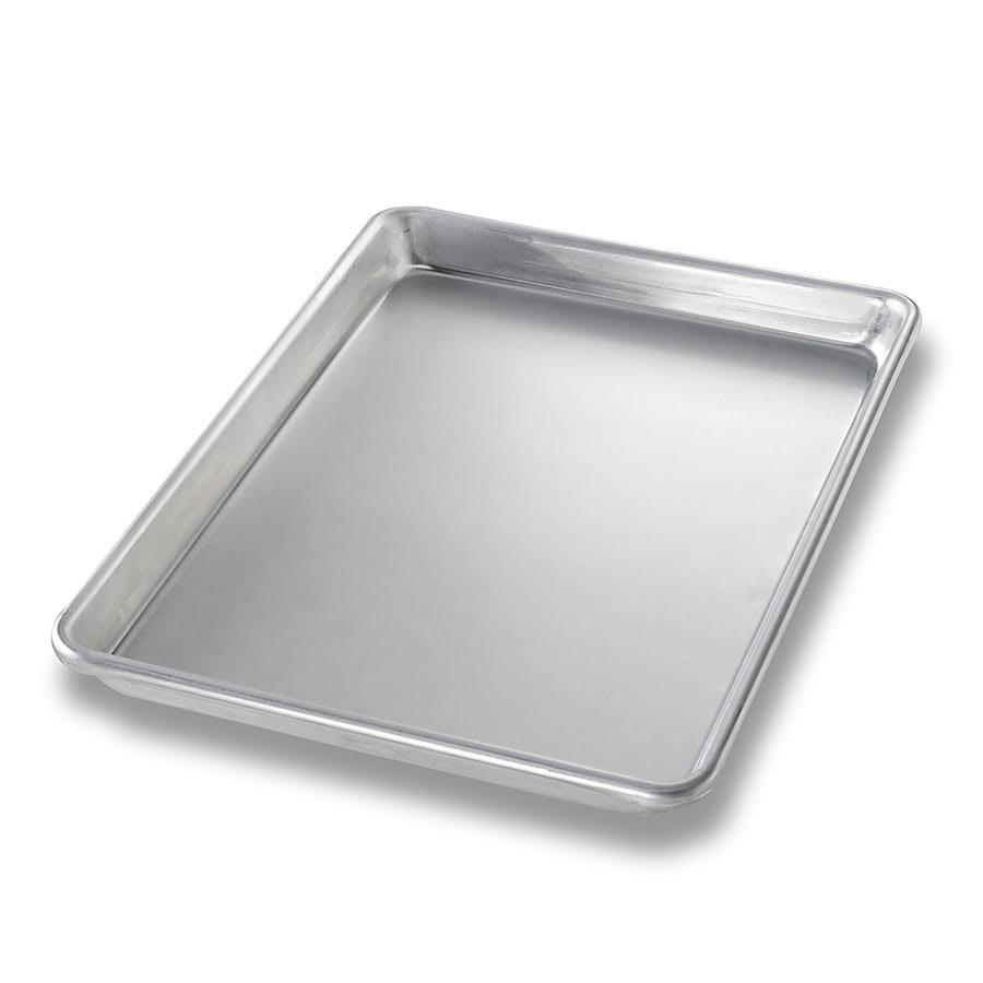 "Chicago Metallic 40455 Quarter-size Sheet Pan, 1.06"" Deep, AMERICOAT Glazed 16-ga. Anodized Aluminum"