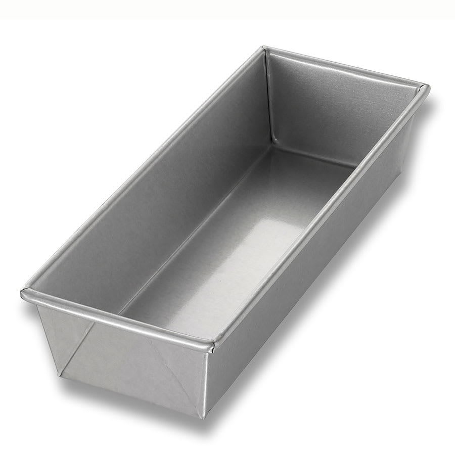 "Chicago Metallic 40491 Individual Bread Pan, 12.25"" x 4.5"" x 2.75"", Non-coated 26-ga. Aluminized Steel"