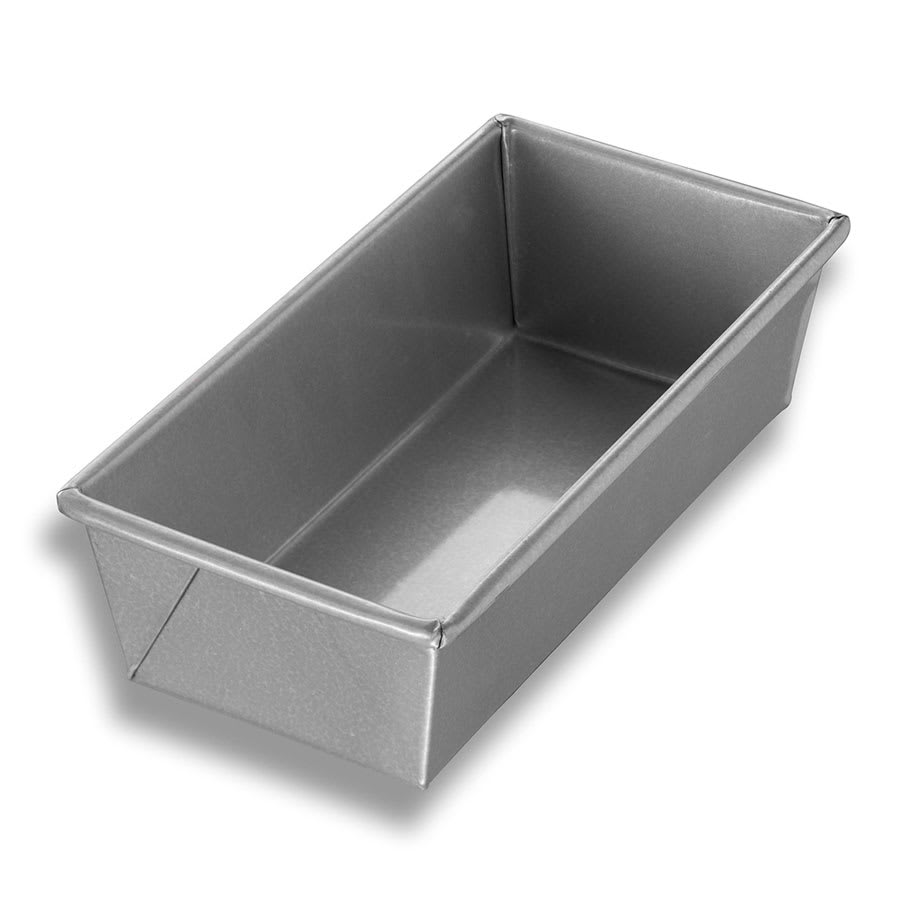 "Chicago Metallic 40561 Individual Bread Pan, 9"" x 4.5"" x 2.75"", Non-coated 26 ga. Aluminized Steel"