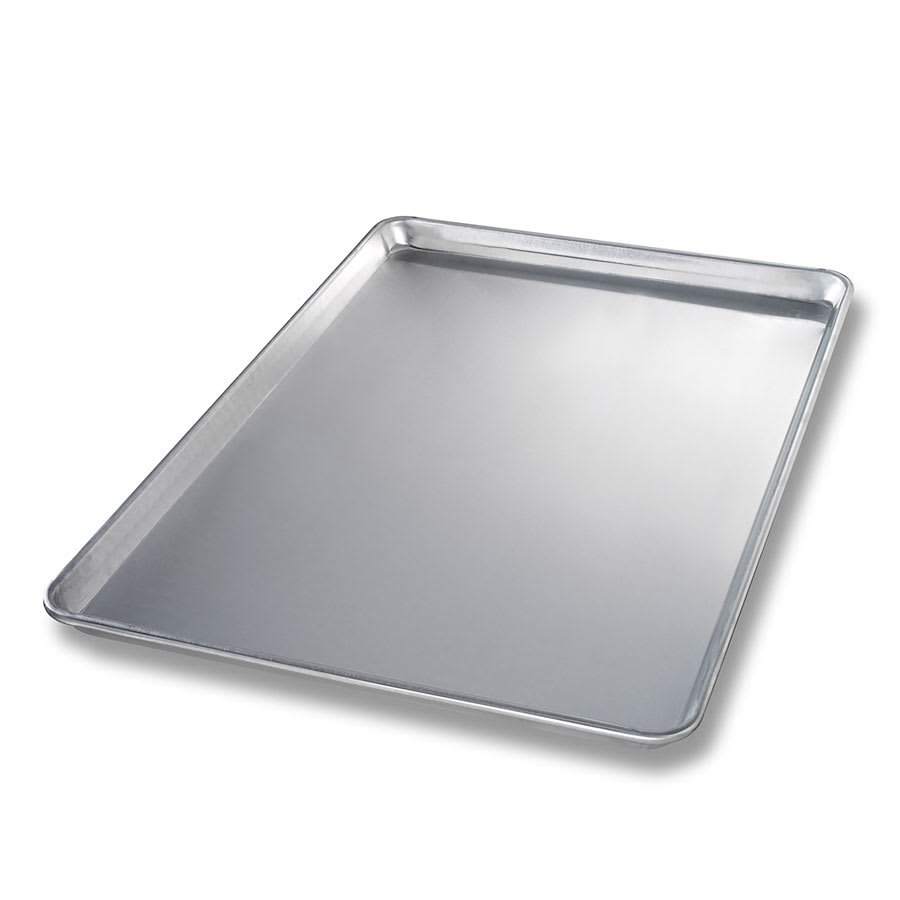 "Chicago Metallic 40605 Full-Size Sheet Pan, 0.94"" Deep, AMERICOAT Glazed 12-ga. Aluminum"