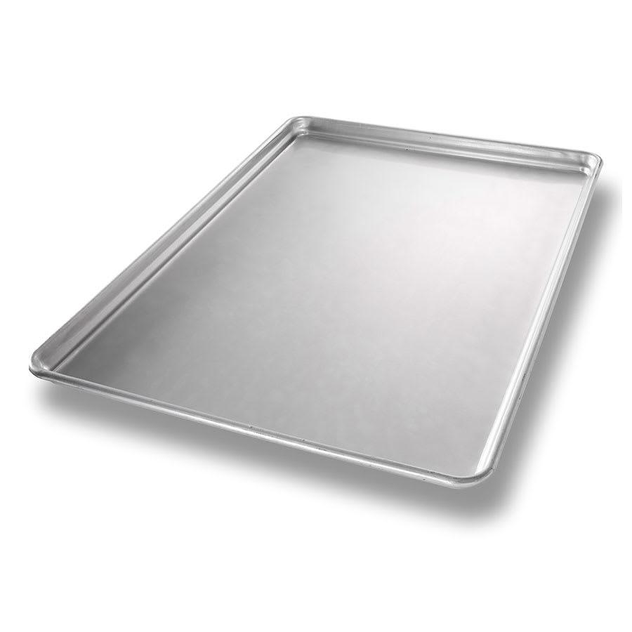 "Chicago Metallic 40694 StayFlat Full-size Sheet Pan, 1"" Deep, Non-coated 16 ga. Aluminum"