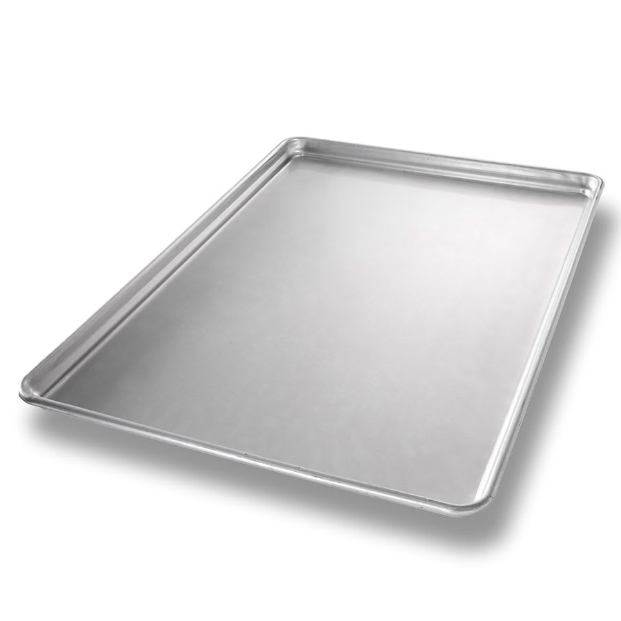 "Chicago Metallic 40698 StayFlat Full-size Sheet Pan, 1"" Deep, AMERICOAT Glazed 16-ga. Aluminum"