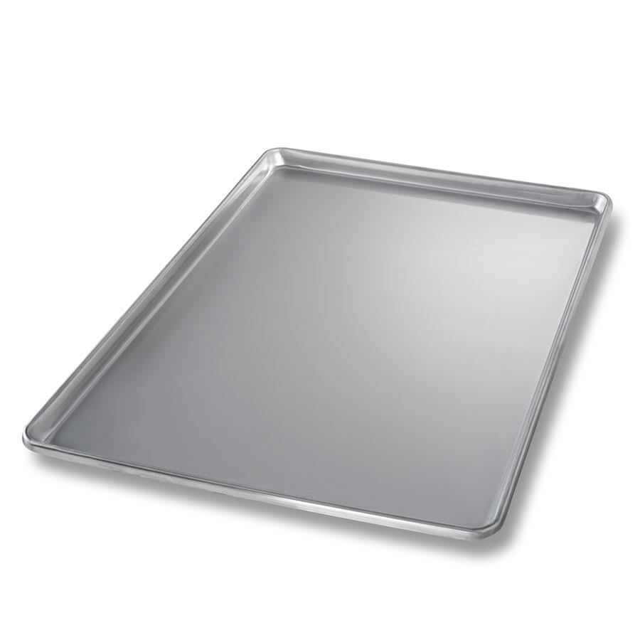 "Chicago Metallic 40700 Full-Size Sheet Pan, 1"" Deep, Stainless Steel"