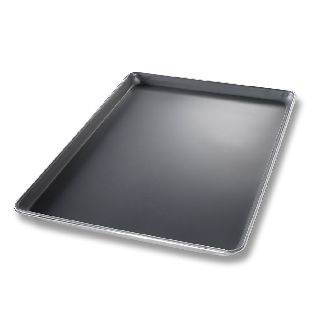 "Chicago Metallic 40808 StayFlat Full-size Sheet Pan, 1"" Deep, AMERICOAT Glazed 18 ga. Aluminum"