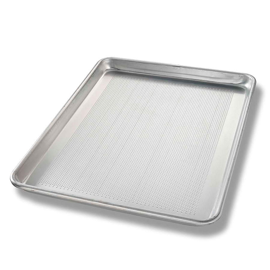 Chicago Metallic 40857 Half-size Sheet Pan, Perforated Bottom, Non-coated 18-ga. Aluminum