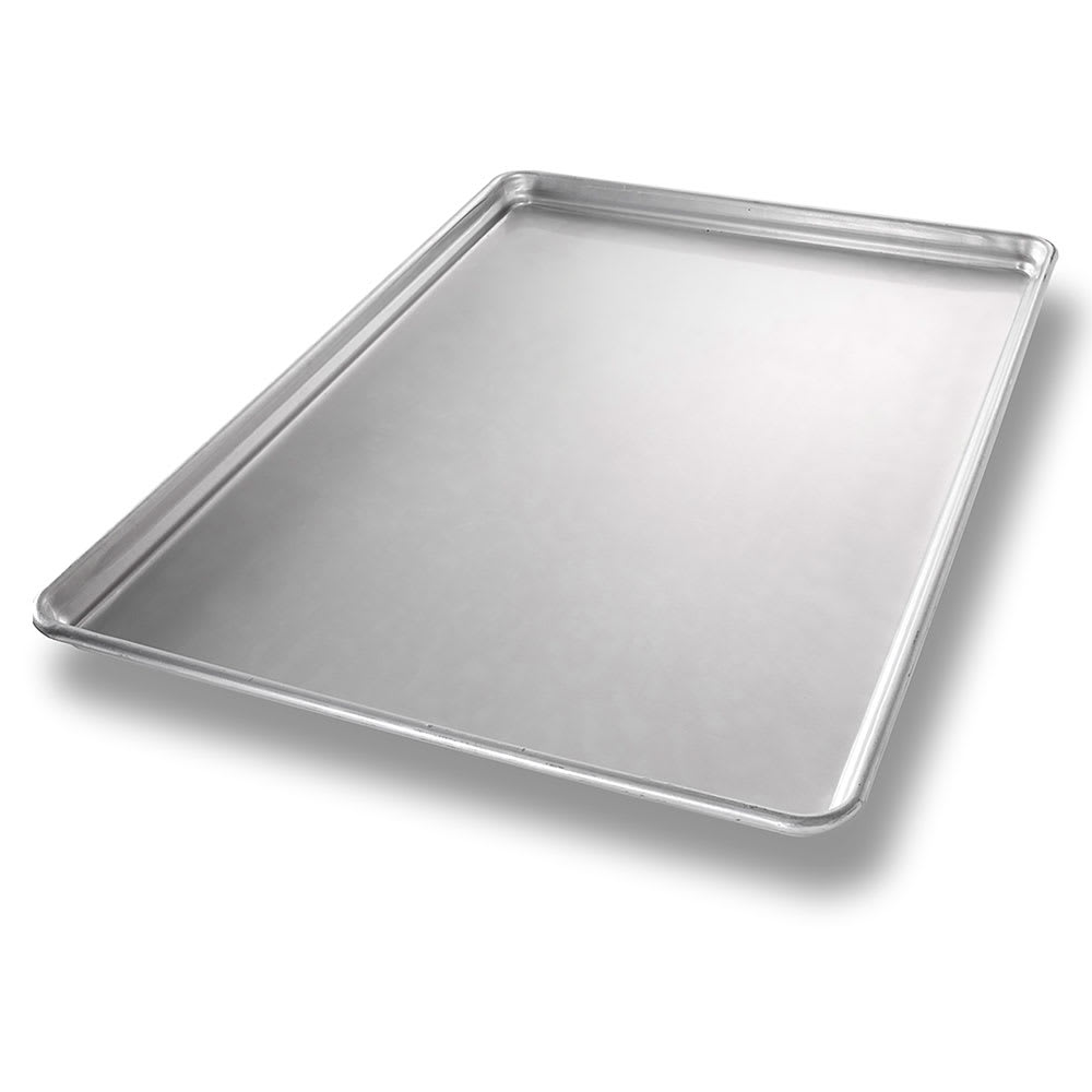 "Chicago Metallic 40908 1/1 Full Size Bun / Sheet Pan - 26"" x 18"" x 1"", 20 gauge Aluminum, AMERICOAT®"