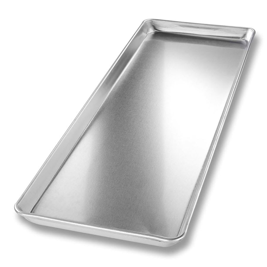 "Chicago Metallic 40922 Display Pan, 9"" x 26"" x 1"", Plain 16 ga. Anodized Aluminum"
