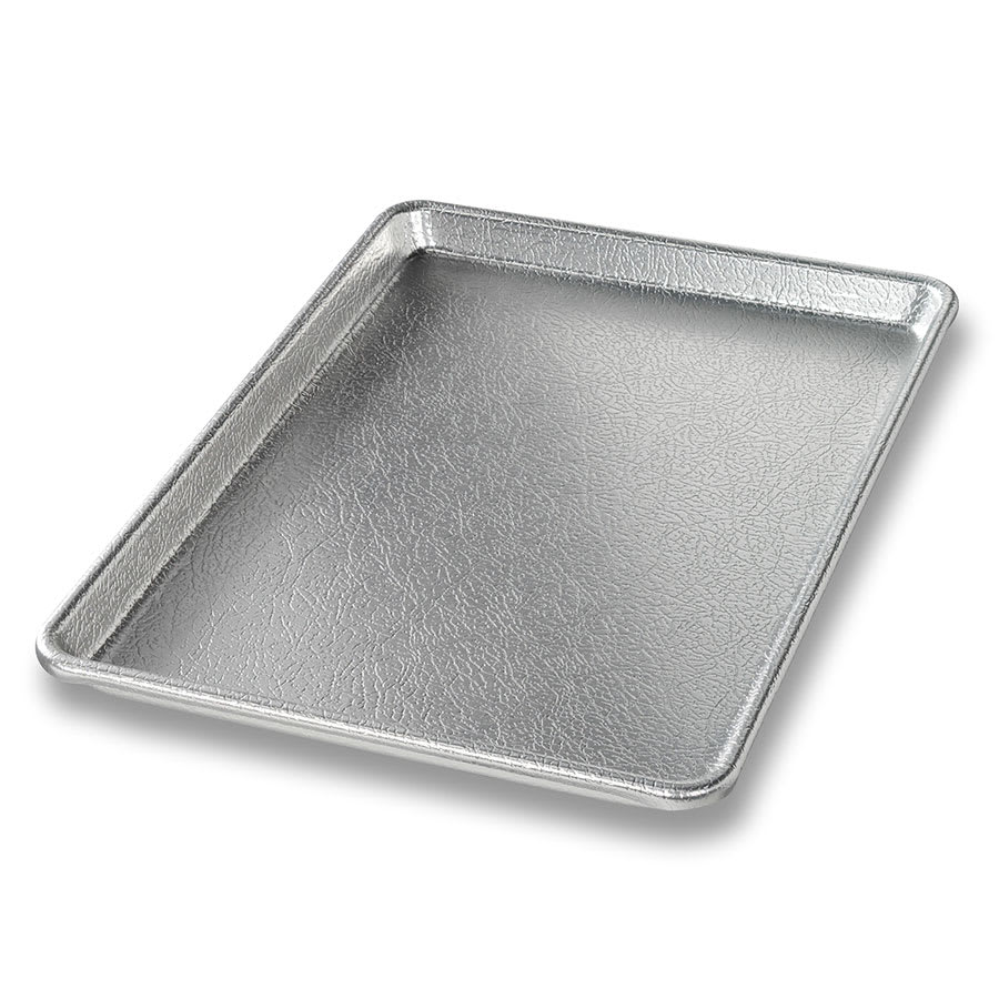 "Chicago Metallic 40947 Display Pan, 9.44"" x 12.9"" x 0.8"", Silver Finish, 16-ga. Anodized Aluminum"