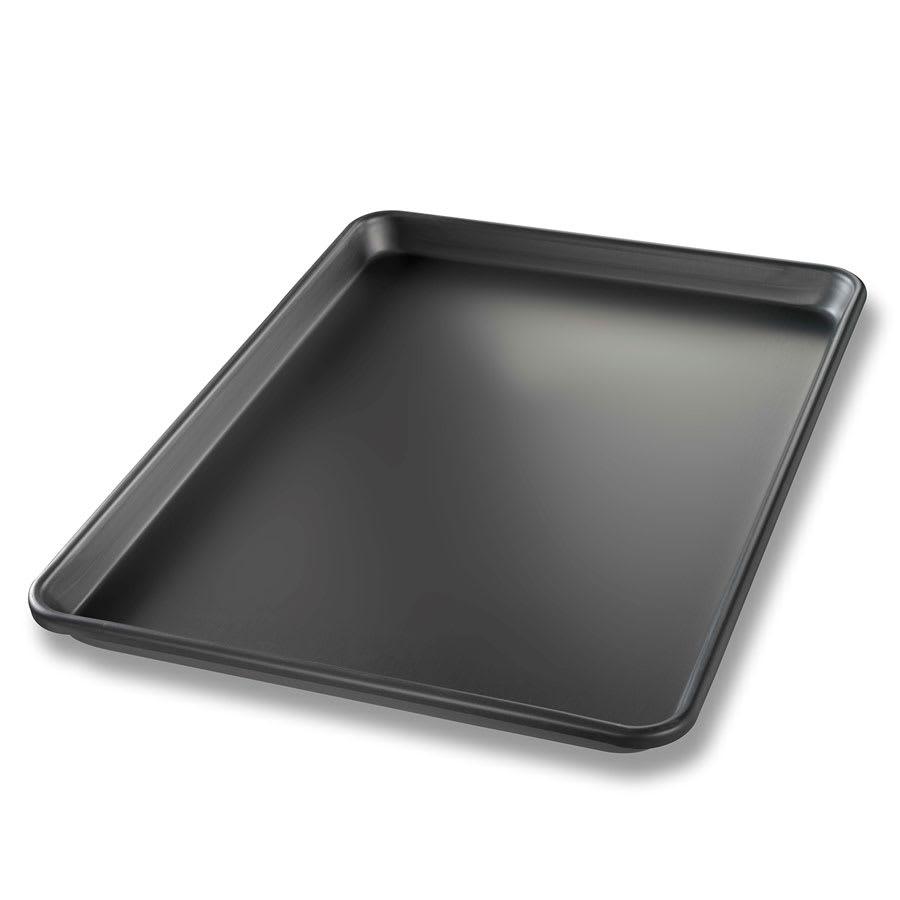 "Chicago Metallic 40952 1/2 Size Bun / Sheet Pan - 17.75"" x 13"" x 1"", 14 gauge Aluminum"